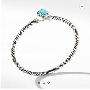 David Yurman Turquoise Bracelet